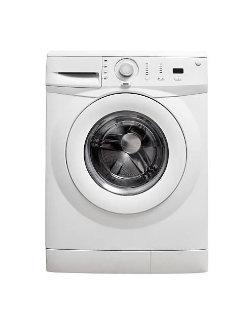洗濯機(詳細)をクリックします。 - 衣類乾燥機 ストックフォトと画像
