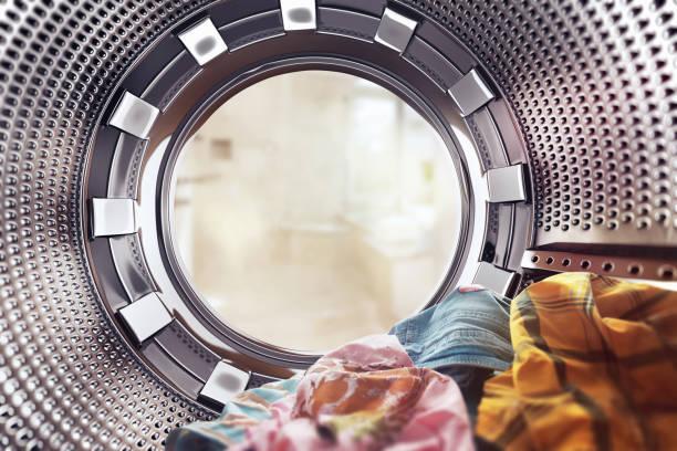 洗濯機 - 衣類乾燥機 ストックフォトと画像