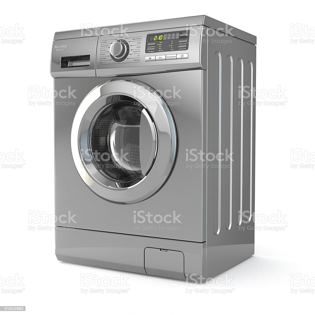 Washing machine. stock photo