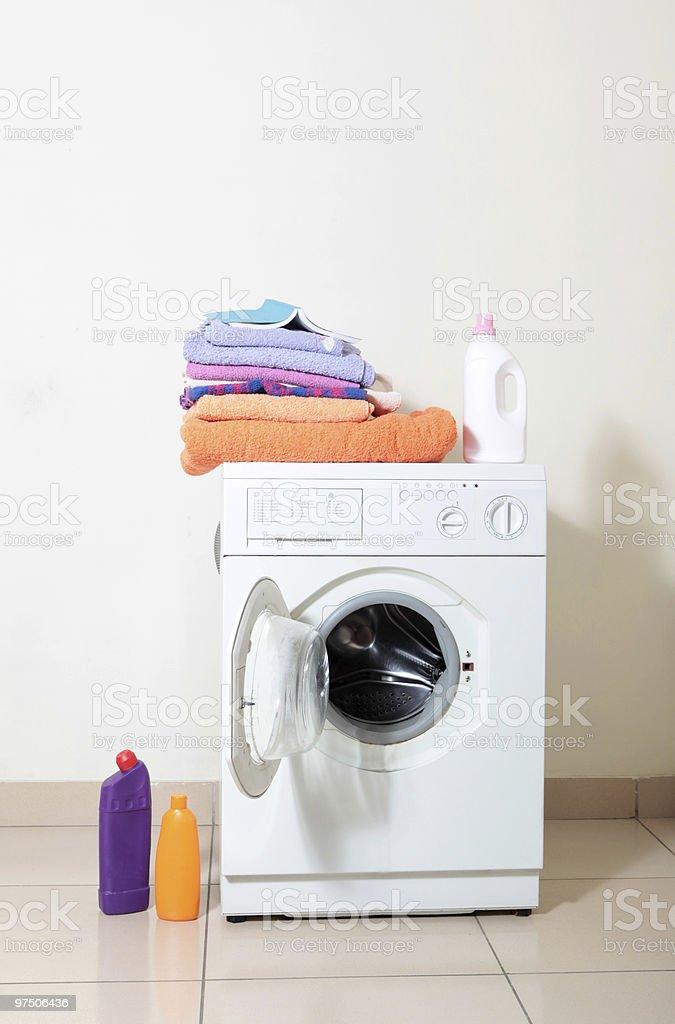 washing machine royalty-free stock photo