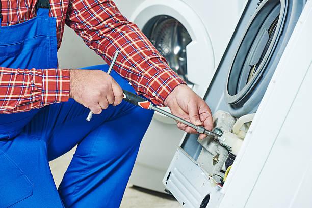 Waschmaschine reparieren – Foto