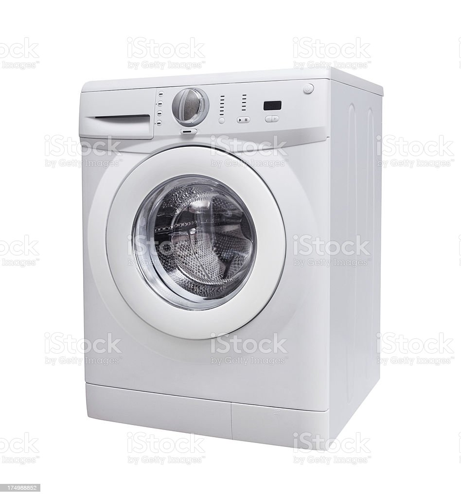 Washing Machine+Clipping Path (Click for more) royalty-free stock photo