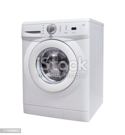 Washing Machine (Clipping Path)