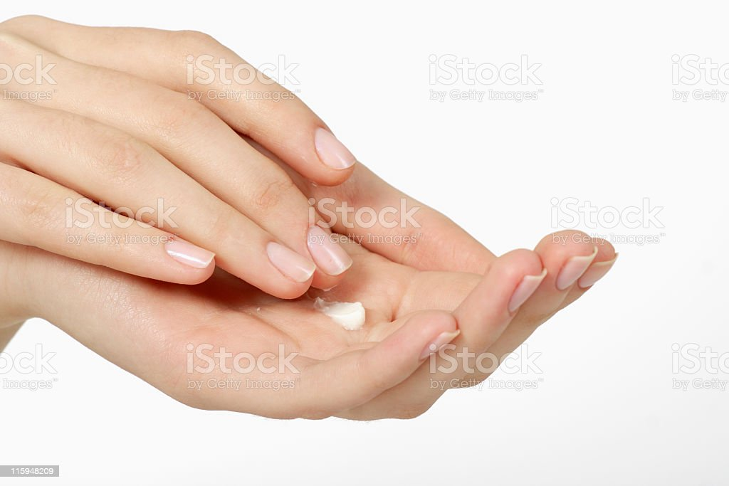 washing of the hands royalty-free stock photo