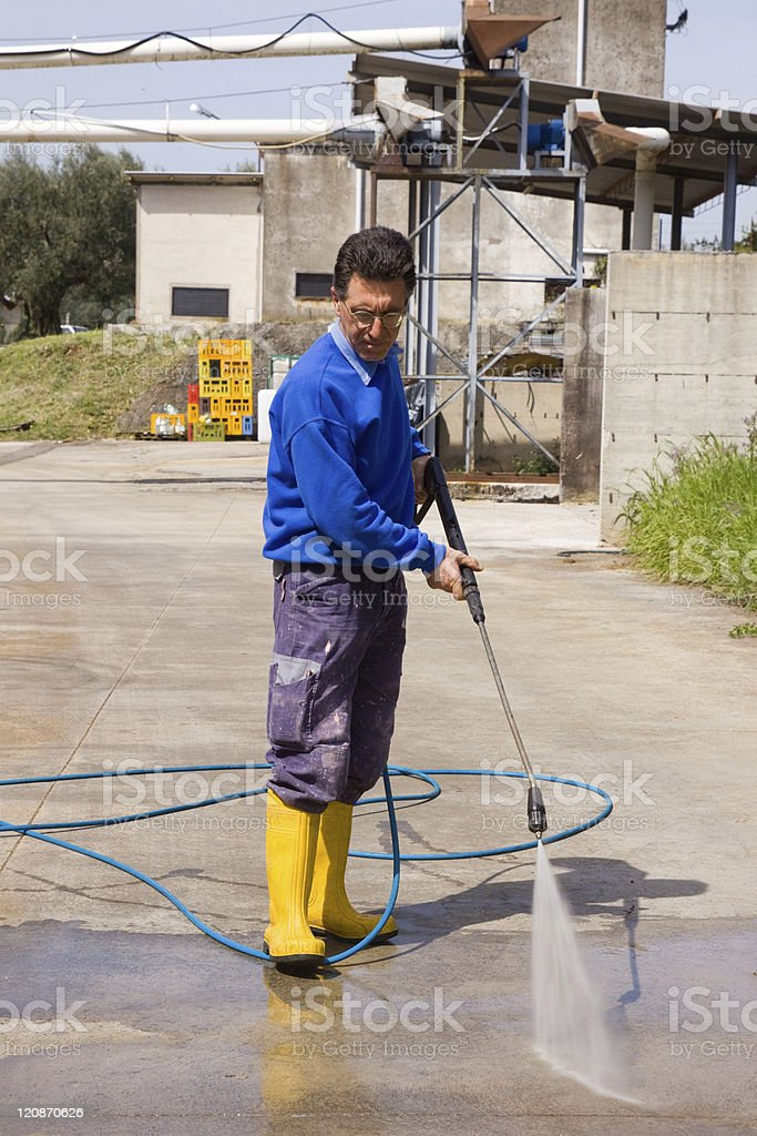 washing royalty-free stock photo