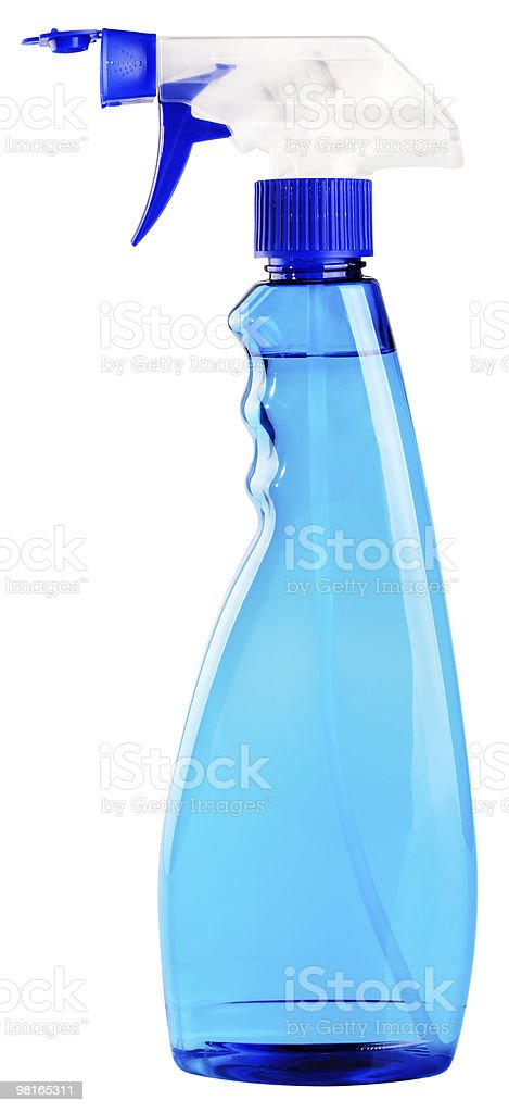 Washing spray royalty-free stock photo