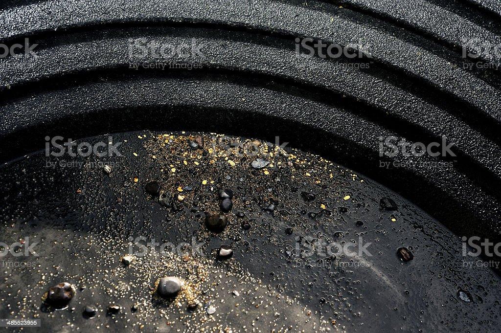 washing the gold stock photo