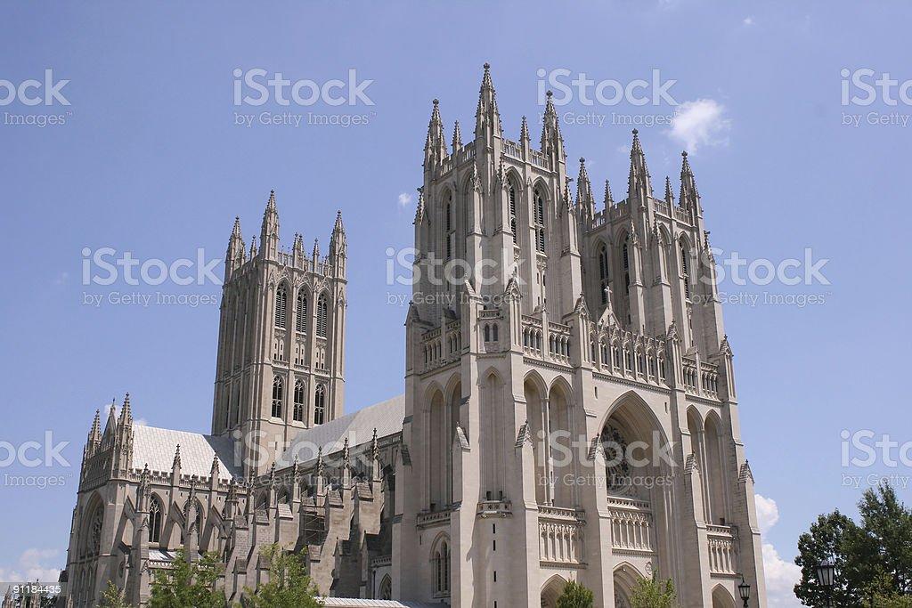 Washington Cathedral stock photo