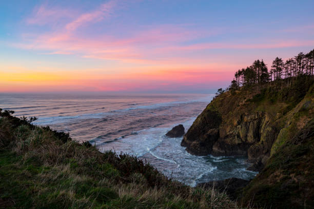 Washington Küste Pacific Sunset. – Foto