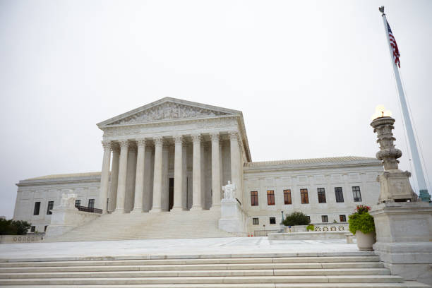 Washington DC 2018 Washington DC, USA, September 14th 2018: Supreme Court of United States of America us supreme court building stock pictures, royalty-free photos & images