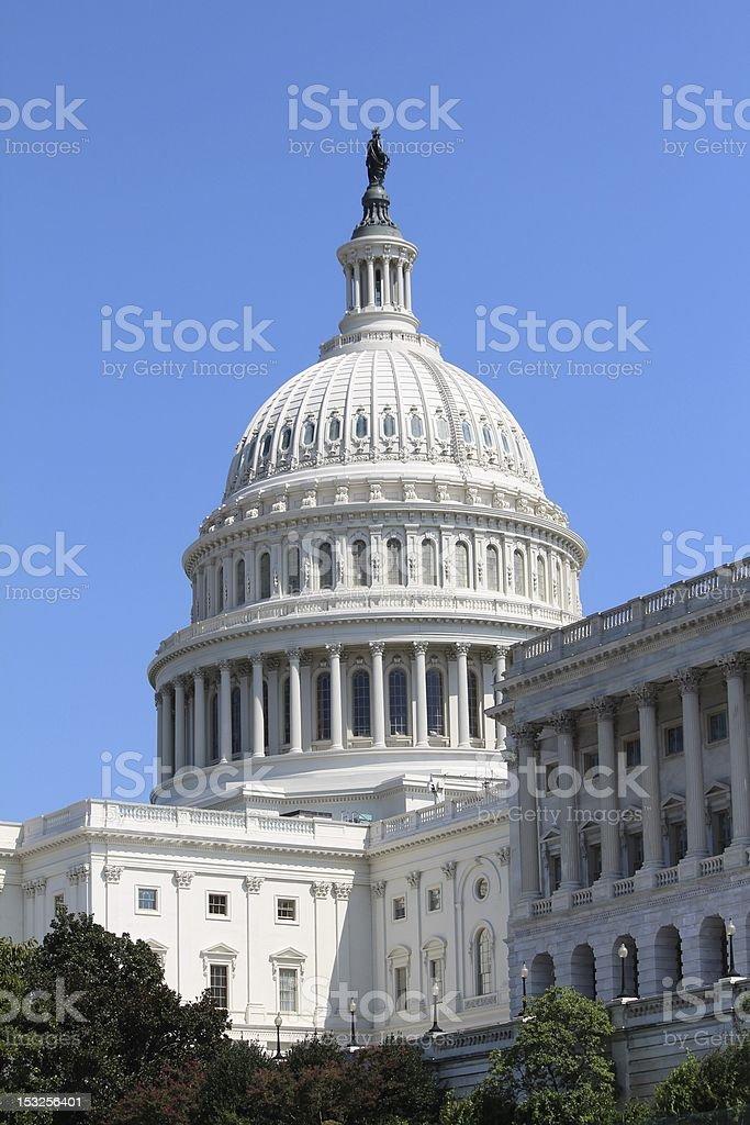 Washington DC Capitol Building royalty-free stock photo