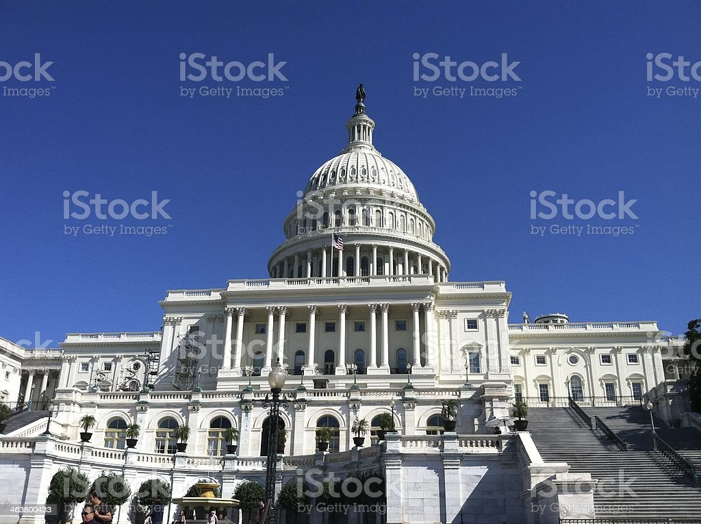 Washington DC, Capitol Building stock photo