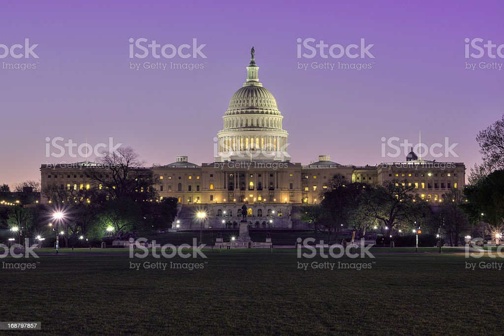 Washington DC capitol royalty-free stock photo