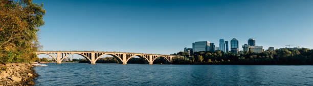Washington DC Cityscapes Key Bridge – Foto