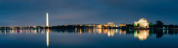 Washington DC Cityscapes Thomas Jefferson Memorial – Foto