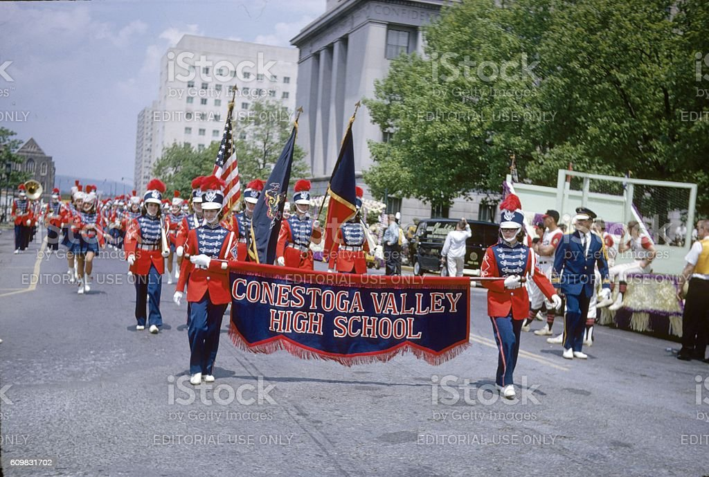 Washington, DC, Memorial Day 1964 stock photo