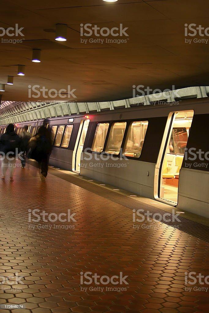 Washington DC Metro II royalty-free stock photo