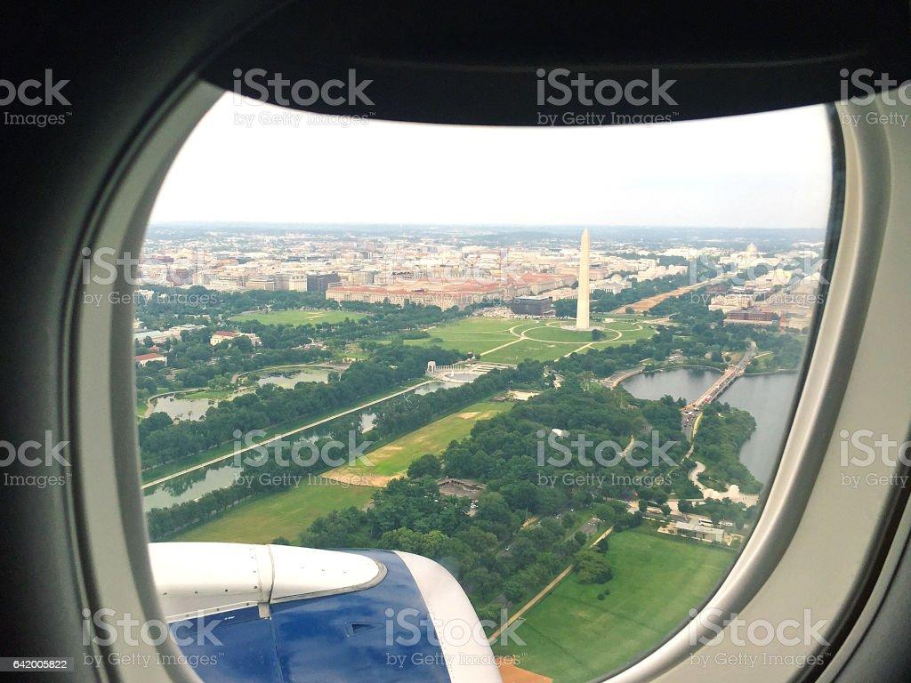 Washington DC Monument stock photo