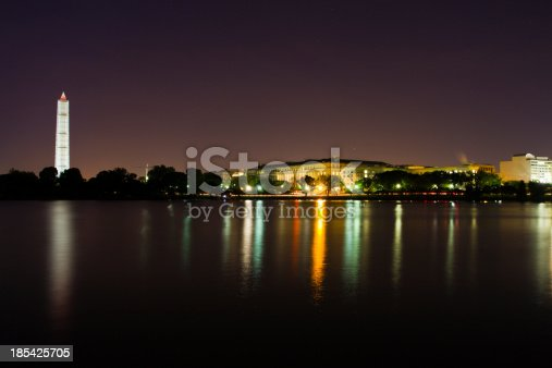 istock Washington DC national mall and capitol building reflecting on water 185425705