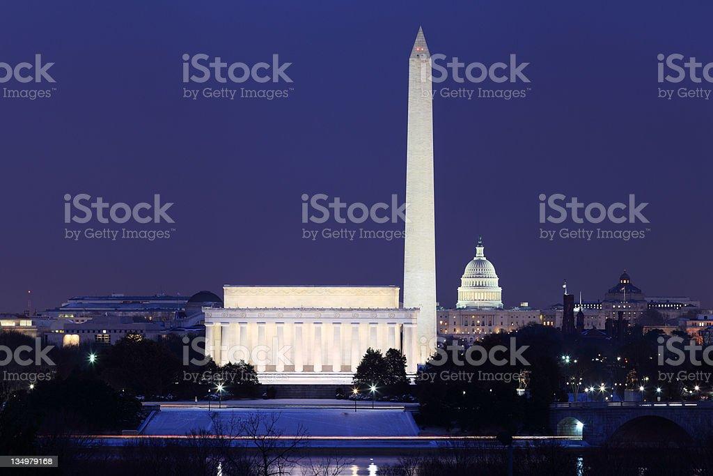 Washington DC royalty-free stock photo