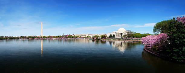 skyline panorama von Washington, DC, – Foto