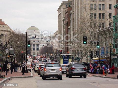 istock Washington DC street traffic 1319838019
