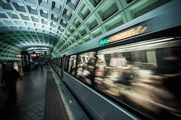 Washington DC Underground Underground in Washington DC subway stock pictures, royalty-free photos & images