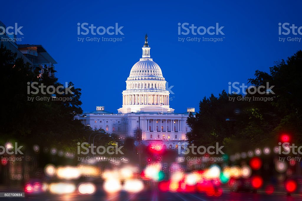 Washington, DC, USA - Lizenzfrei 2015 Stock-Foto