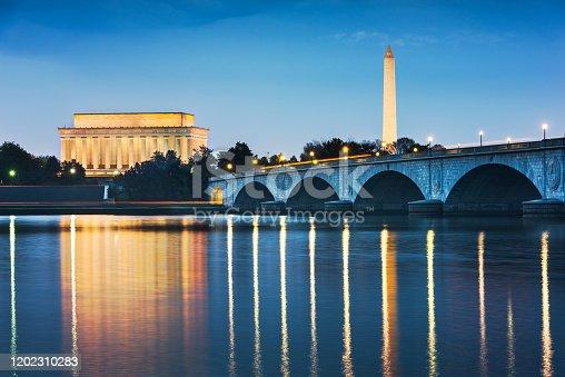 istock Washington DC, USA Skyline on the River 1202310283