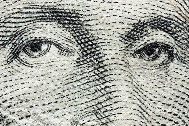 Washington Dollar stock photo