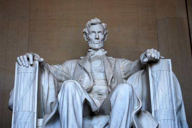 Washington - Lincoln Memorial - foto de stock