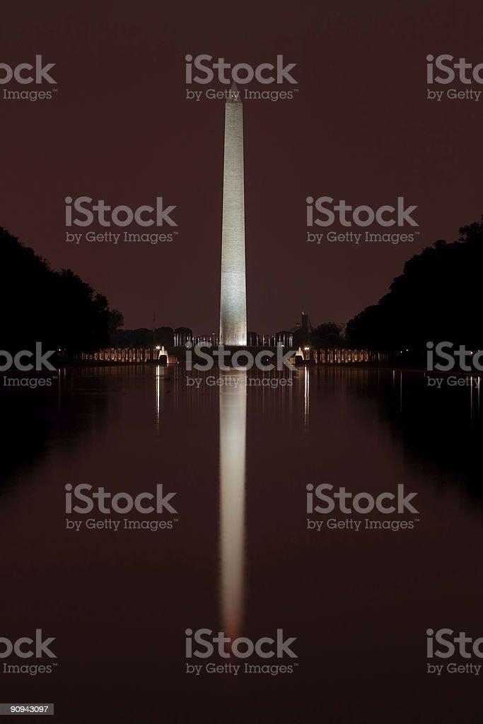 Washington Monument 2 royalty-free stock photo