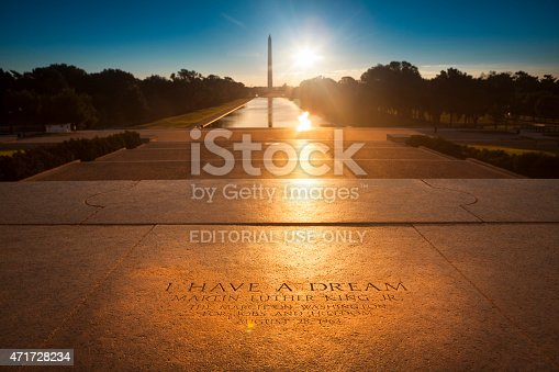 istock Washington Monument from the Lincoln Memorial 471728234