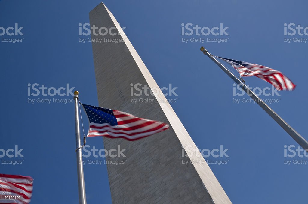 Washington Monument royalty-free stock photo