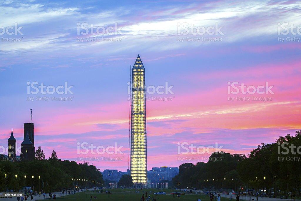Washington Monument, USA royalty-free stock photo