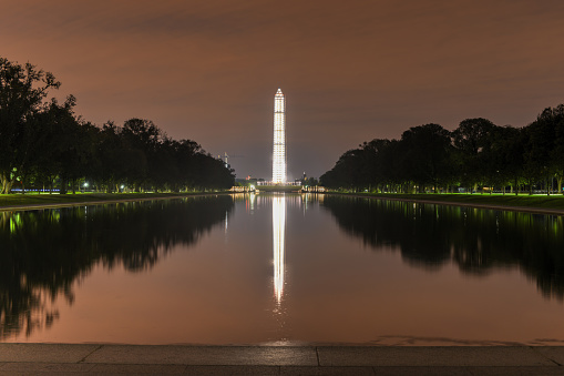 Washington Monument Mit Gerüst Stockfoto und mehr Bilder von Alt