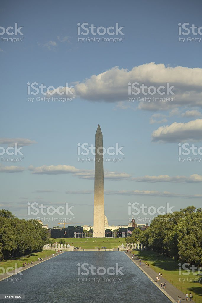 Washington Monument XXXL stock photo