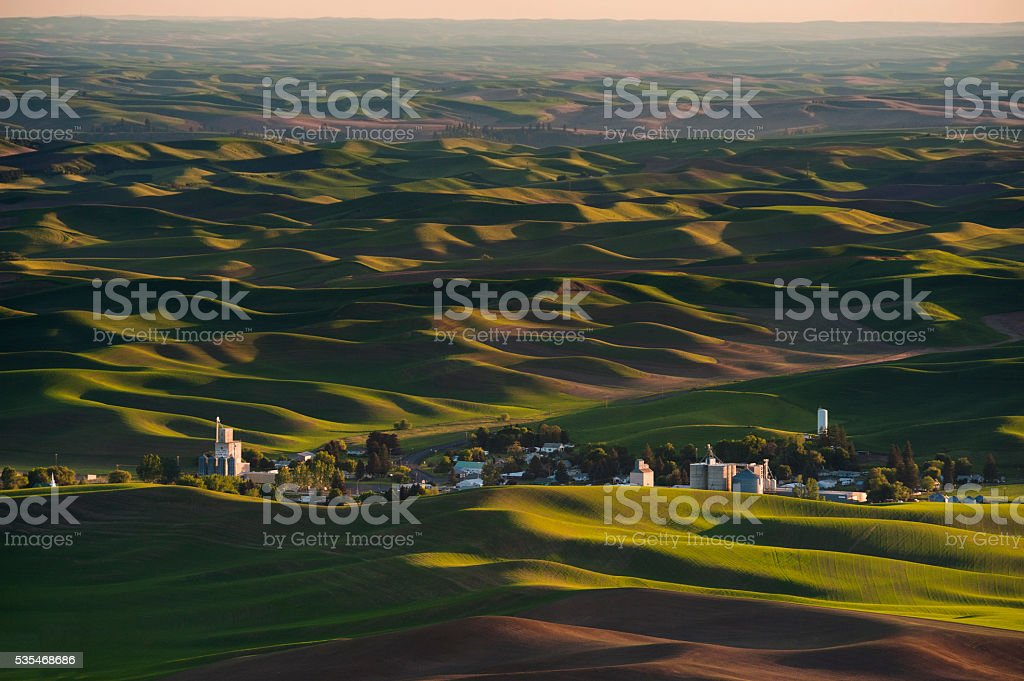 Washington Palouse stock photo
