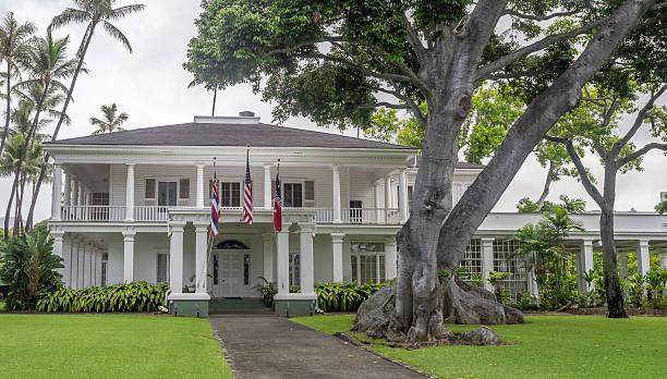 Washington Place, Honolulu Hawaii - foto de stock