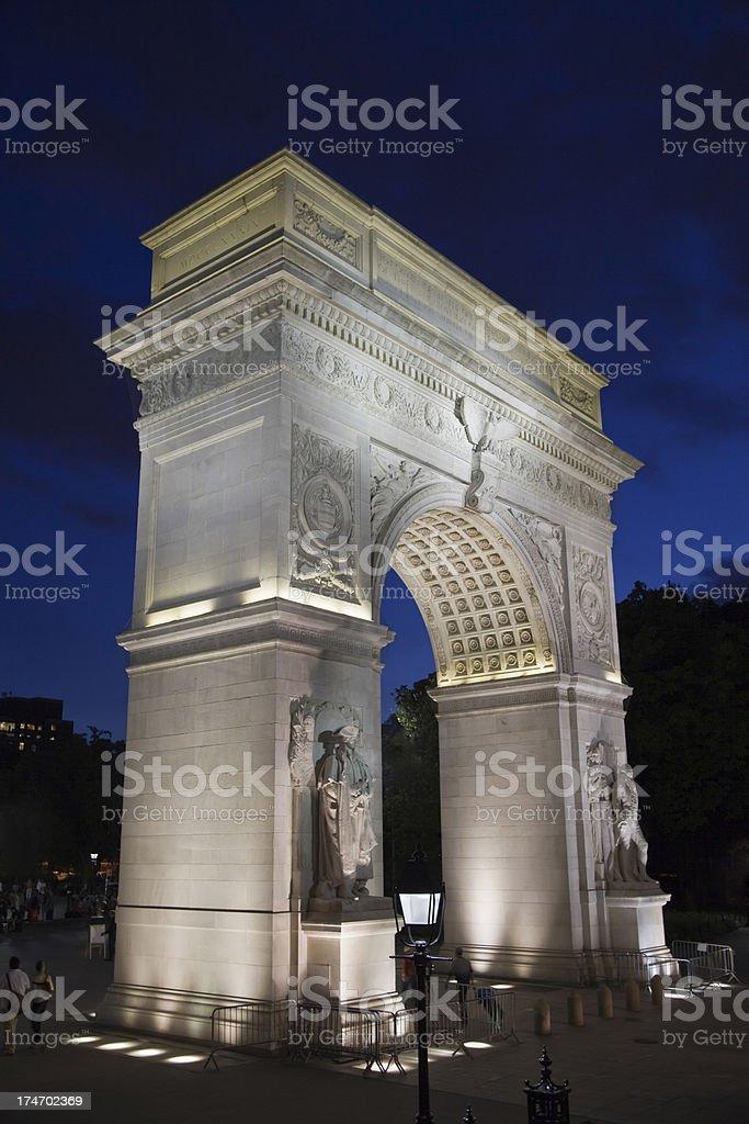 Washington Square Arch, New York (XXXL) stock photo