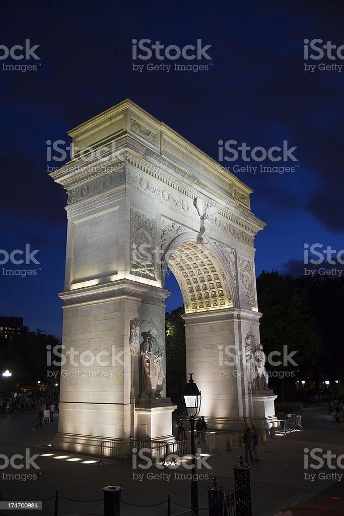Washington Square Arch (XXXL) stock photo