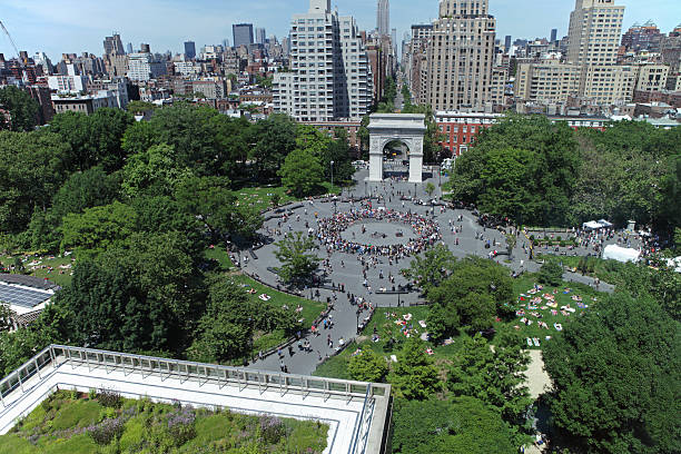 Washington Square Park NYC – Foto