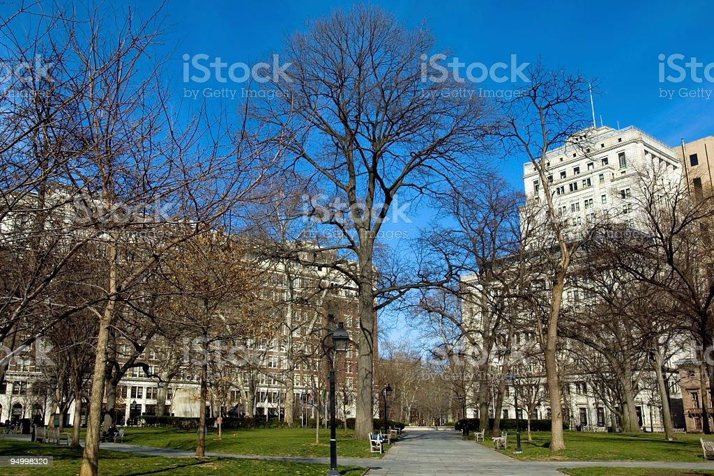 Washington Square stock photo