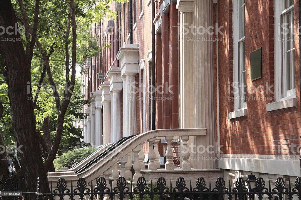 Washington Square Serenade royalty-free stock photo