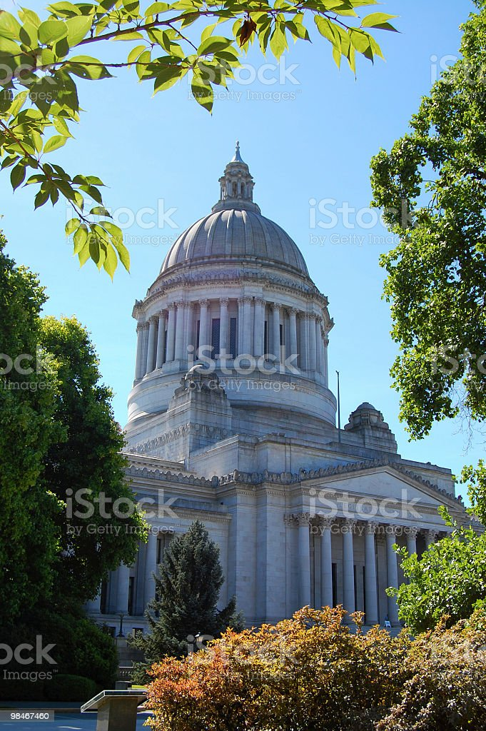 Washington State Capital Building royalty-free stock photo