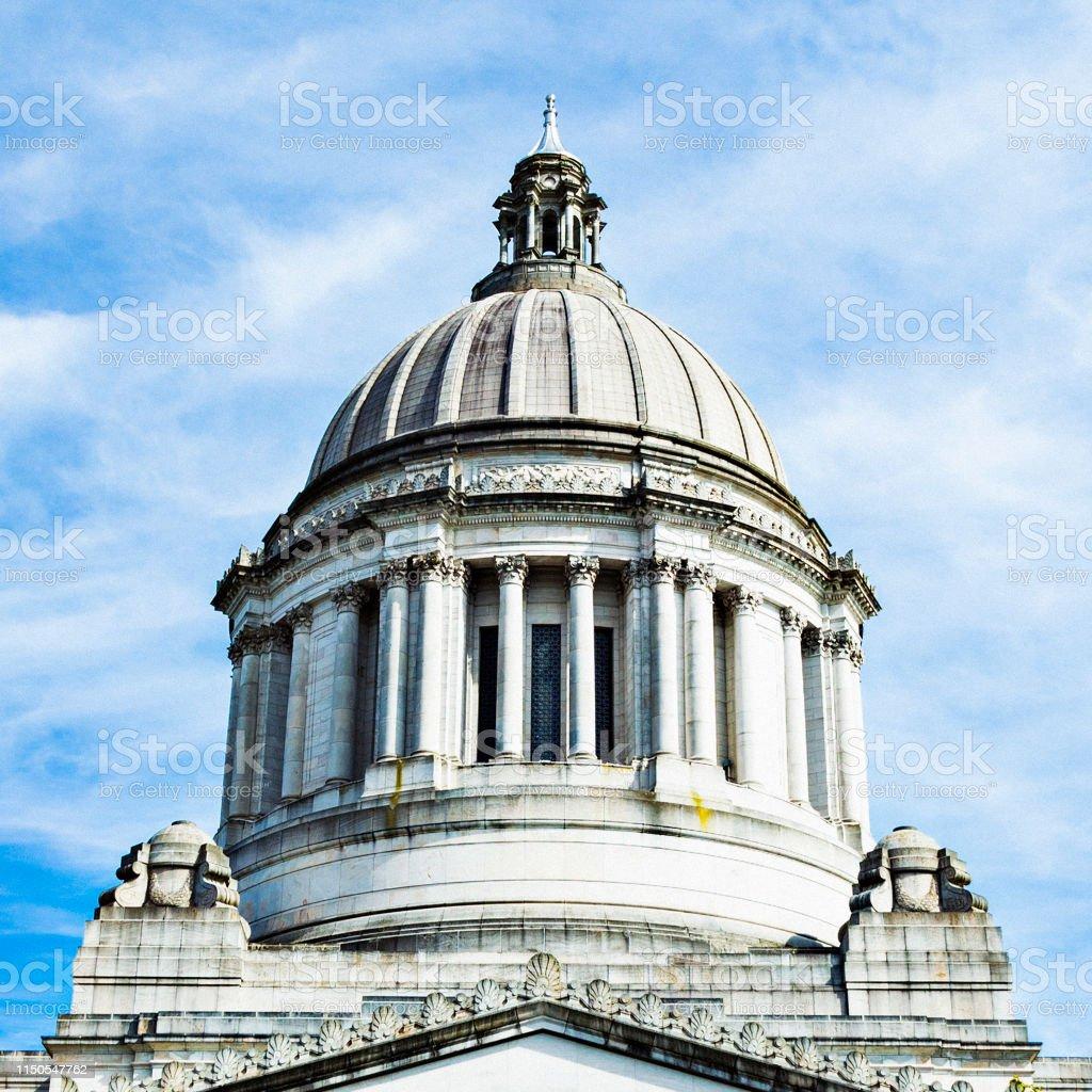 Washington State Capitol Building in Olympia, Washington, USA.