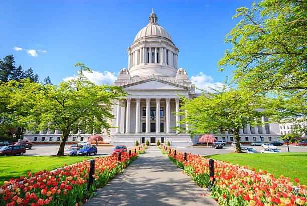 Washington State Capitol Building Washington State Capitol Building washington state stock pictures, royalty-free photos & images