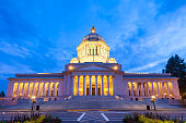 The Capitol Building in Olympia, Washington, USA
