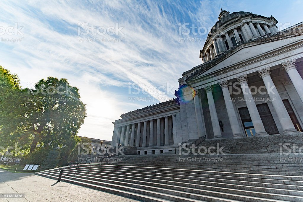 Washington State Capitol Legislative Building stock photo