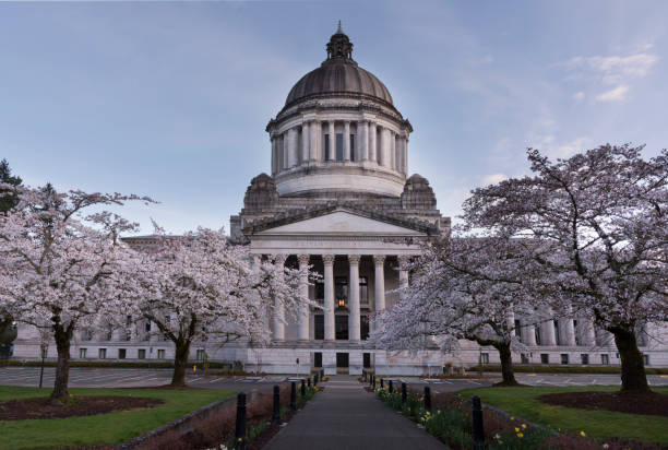 Washington State Capitol - foto stock